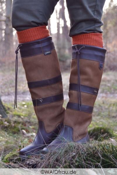 Dubarry Alpaka Socks - Stiefelstrümpfe /Terracotta