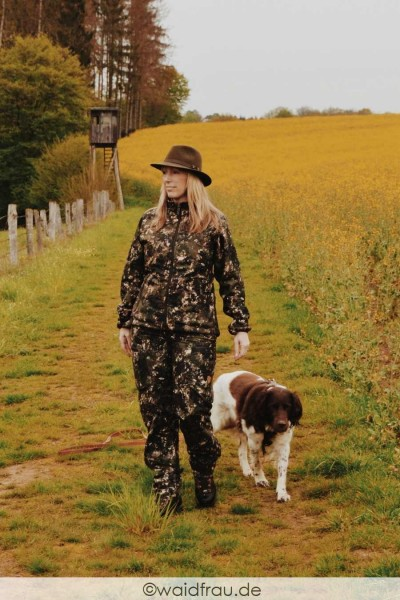 Northern Hunting Damen Jagdhose Asfrid Aud Camouflage