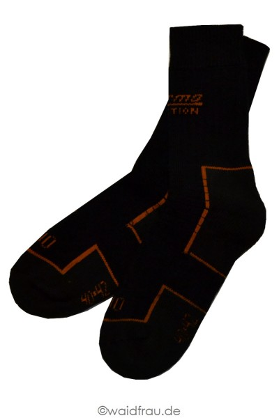 Skogen Thermo Function Socke 400 kurz / Schwarz