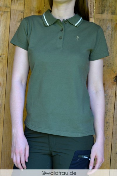 Pinewood Damen Stretch Poloshirt Outdoor Life