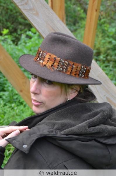Damen Jagdhut FASAN / Braun