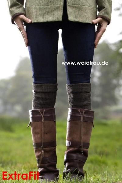Dubarry Damen Lederstiefel Galway – Walnut-ExtraFit