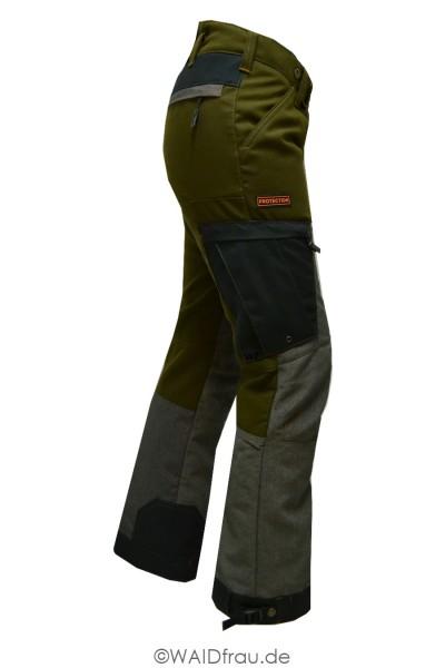 Swedteam Damen Sauenschutzhose Protection Green