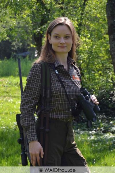 Skogen Damen Jagdhemd Karo