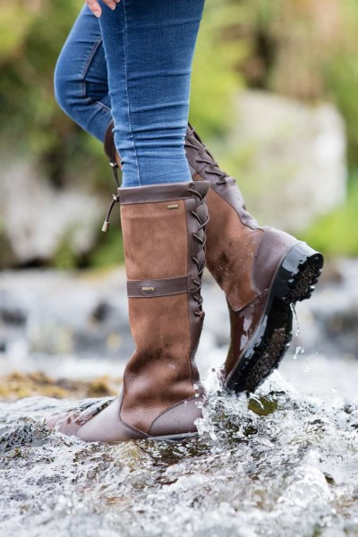 Dubarry Glanmire Damen Lederstiefel - Walnut