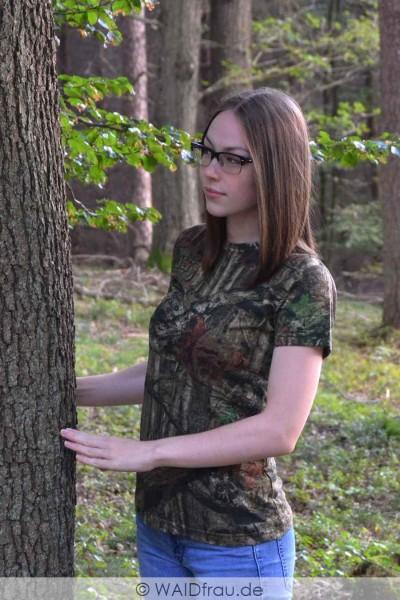 Yukon Damen Jagd Tarn- Shirt Mossy