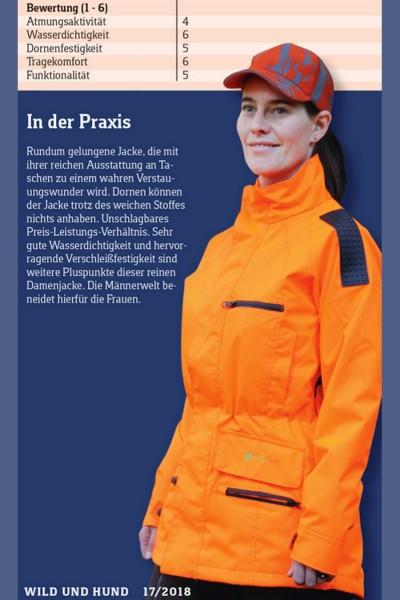 Waidfrau Damen Drückjagdjacke/ Durchgehjacke SWENJA 2.0
