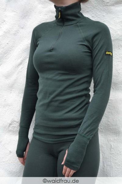 Skogen Thermo Function Damen Troyer / Funktionsshirt mit RV- TS 200