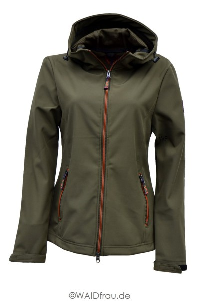 Hubertus Damen Soft-Shell Jagd Jacke Ladies Fashion