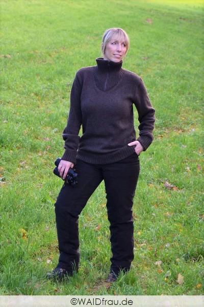 Waidfrau Damen Jagd Pullover /Troyer LAURA